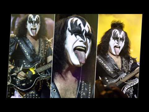 KISS GENE SIMMONS radioactive