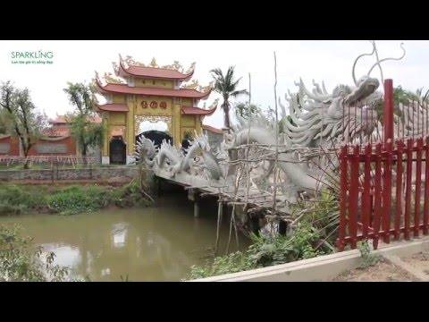 Cận cảnh đền thờ tổ rộng lớn, khang trang của Danh hài Hoài Linh