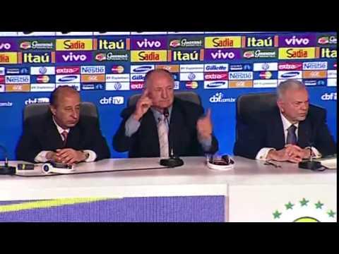 Felipão convoca seleção para a Copa do Mundo -