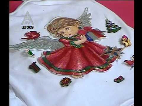 Detalles Magicos con MimiLuna-Franela con Decoupage de ANGEL.www.tremendaluna.com 8