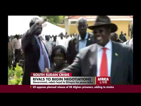S.Sudan govt & rebels expected in Ethiopia for peace talks