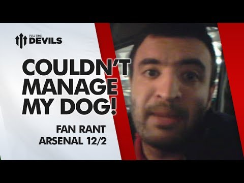 Moyes Couldn't Manage My Dog! | Arsenal 0-0 Manchester United | FAN RANT