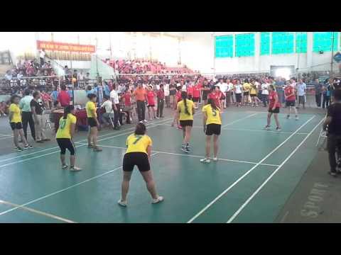 Bóng chuyền hơi Yên Phú - Bình Vọng - Giải đấu huyện Thường Tín