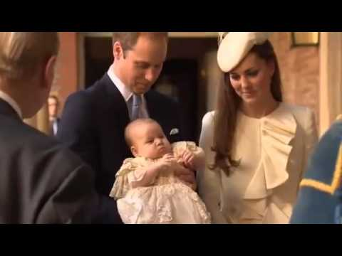 Prince George Of Cambridge Was Being Christened in London