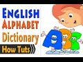 Alphabet Dictionary قاموس الحروف الانجليزية view on youtube.com tube online.