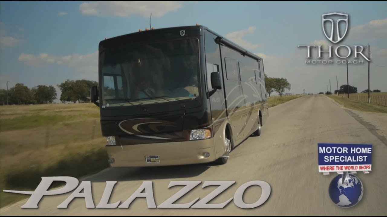 2014 thor motor coach palazzo review at motor for Motor home specialist reviews