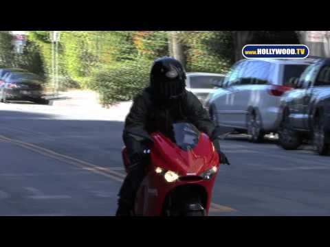 Tom Cruise Cruises Down Doheny on Ducati Superbike