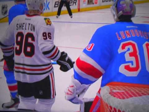 Chicago Blackhawks win 2014 2015 Stanley Cup Game 5 vs New York Rangers NHL 13