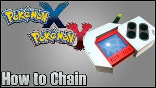 Pokemon X & Y How To Chain Using The Poke Radar
