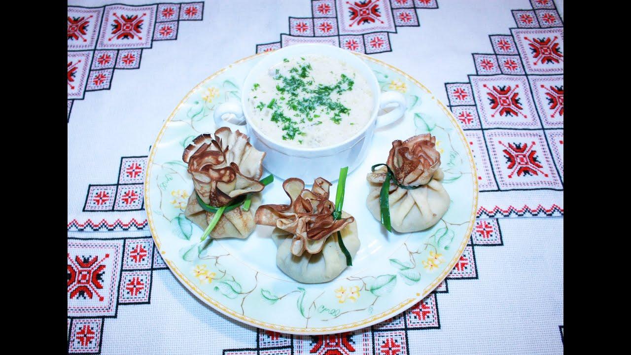 Гороховый суп с белыми грибами рецепт