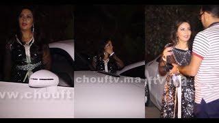 بالفيديو..من كواليس مهرجان كازا..فاطمة الزهراء لعروسي ملقاتش الساروت ديال طوموبيلتها |