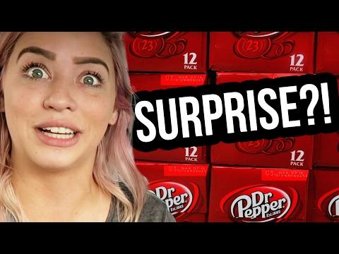 DR. PEPPER SURPRISE?! (Lunchy Break)