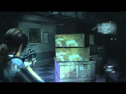 Resident Evil Revelations HD Story Mode Gameplay