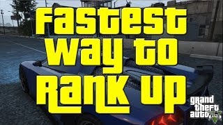 Fastest Way To Rank Up In GTA V 7k RP In 2 Mins