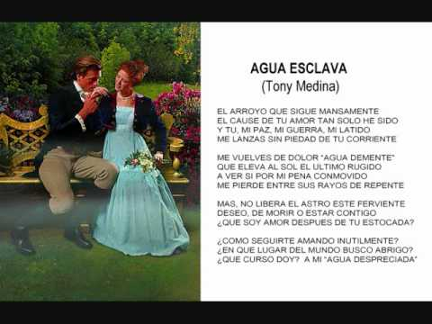 ''AGUA ESCLAVA '', POEMA DE AMOR, POESIAS ROMANTICAS, POSTAL VIRTUAL, VIDEO POEMA