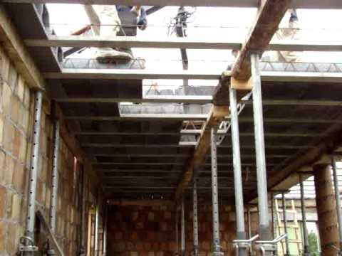 Układanie stropu Teriva cz 2 - Stropex