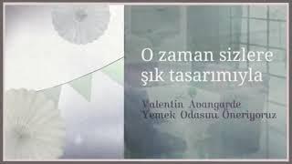 [Valentin Avangarde Yemek Odasi Evgör Mobilya] Video