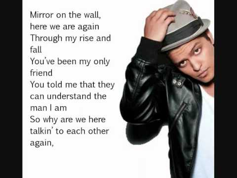 Lil Wayne ft. Bruno Mars - Mirror (Lyrics)