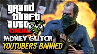 GTA 5 Money Glitch GTA 5 Youtubers Getting Banned (GTA V