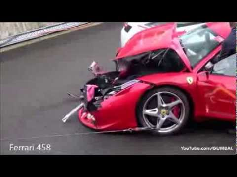 Ultimate Supercar Crashes Compilation