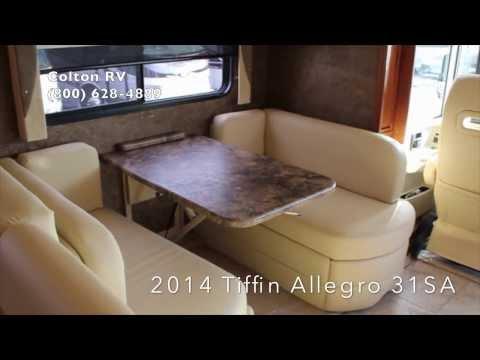 New 2014 Tiffin Allegro 31SA | Class A Motorhome