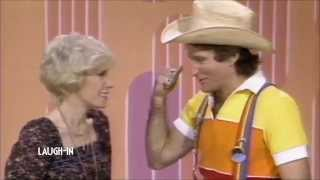 Joan Rivers and Robin Williams on Laugh In