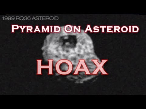 1999RQ36 / 101955 Bennu Pyramid On Asteroid Hoax Goes Viral
