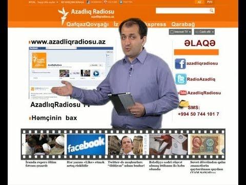 AzadlıqRadiosu TV 19 may 2012