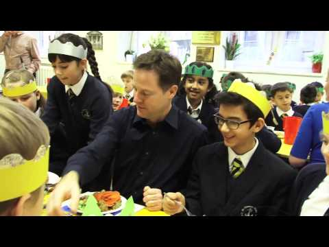 Merry Christmas; message from Nick Clegg