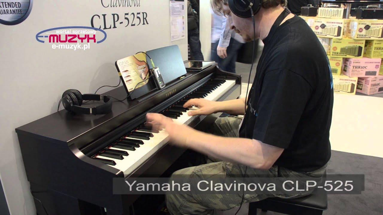 Musikmesse 2014 yamaha clavinova clp 525 demo youtube for Yamaha clavinova clp 500