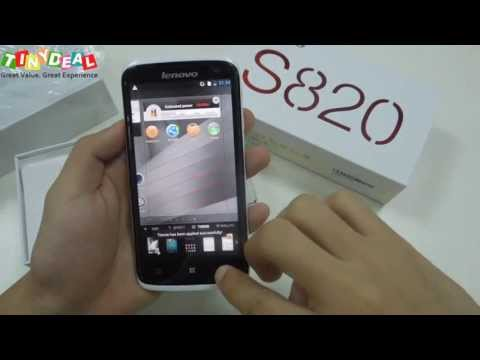 Lenovo S820 review,