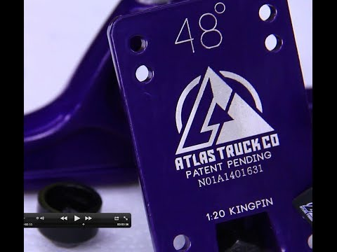 ATLAS Trucks at Motionboardshop