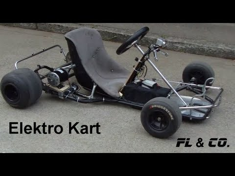 elektro kart fl co eigenbau hd youtube. Black Bedroom Furniture Sets. Home Design Ideas