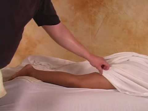 Hot Towel Massage - Posterior Leg