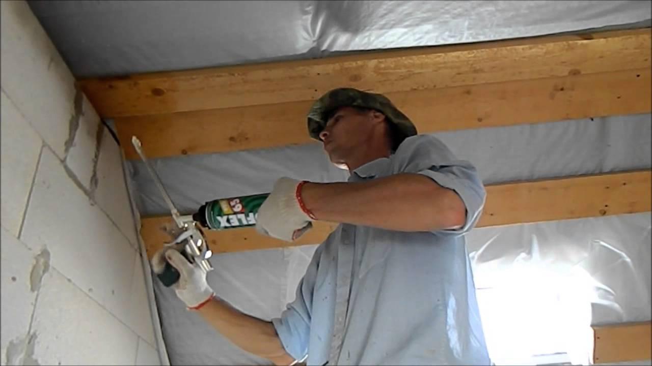 Как заштукатурить деревянную стену