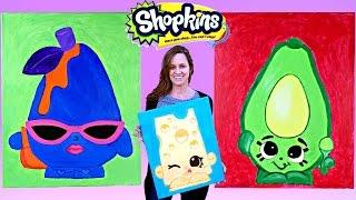 SHOPKINS Toy Paintings Do It Yourself Shopkins Season 2