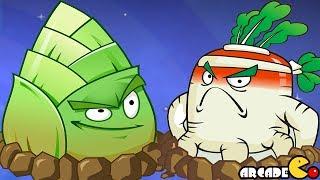 Plants Vs Zombies 2: Kung Fu World PVZ Walkthrough Part 34