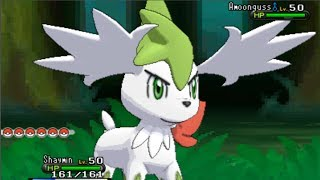 Pokemon X And Y How To Get Shaymin Sky Form!