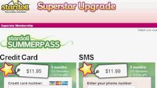 How To Get Free Stardollars Superstar Membership