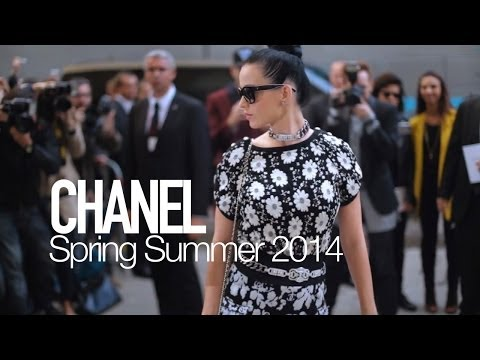 CHANEL Spring 2014 by Karl Lagerfeld ft Katy Perry, Rita Ora | MODTV