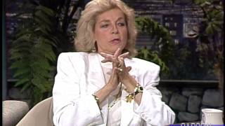Johnny Carson: Lauren Bacall on the Set of The African Queen, 1987