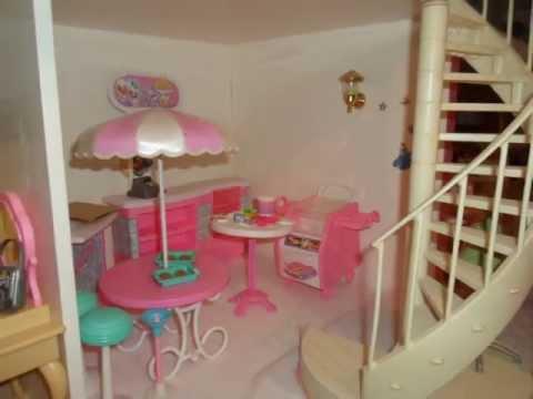 Casa de mu ecas barbie alicia martinez youtube - Arreglar la casa de barbie ...