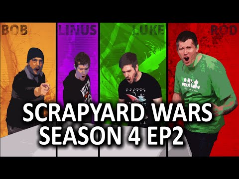 Modded Gaming PC Challenge - Scrapyard Wars Season 4 - Episode 2