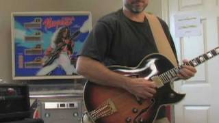 Ted Nugent Stranglehold Guitar Solo Cover