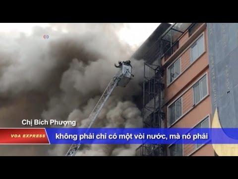 Tại sao Việt Nam cứ cháy là chết?