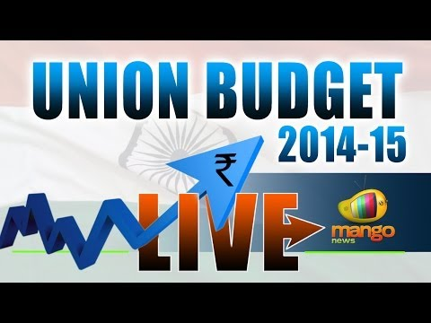 Union Budget Of India 2014 - 15 Live From Parliament
