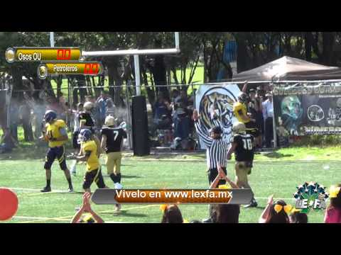 Osos OU vs Petroleros Pemex Final LEXFA Master 2014 Highlights