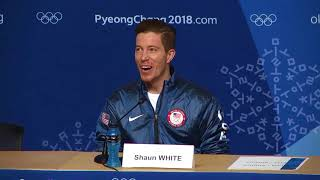 Shaun White on third Olympic gold medal: It hasn't hit me yet | ESPN