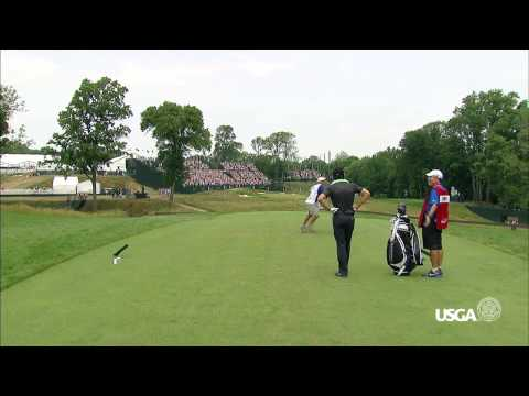 2013 U.S. Open Final Round: Shawn Stefani Hole-in-One on No. 17