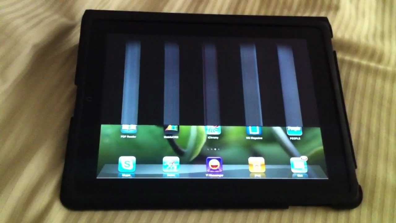 Ipad Screen Problem And Solutions Youtube